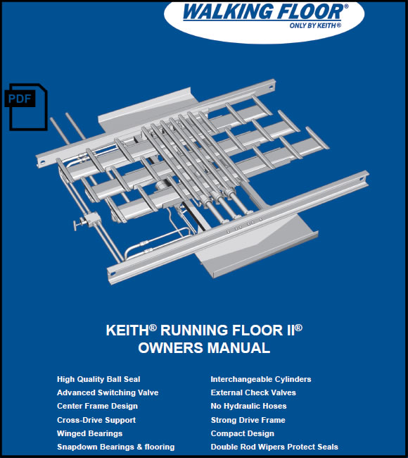 Keith® Running Floor II® Owners Manual