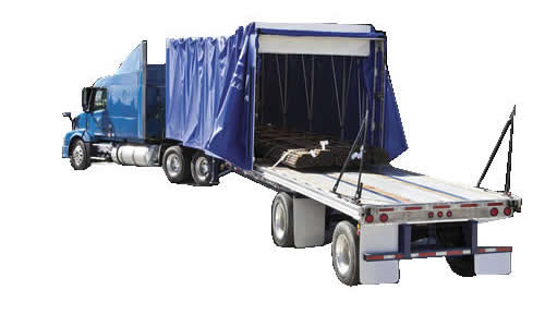 Fastrak® Flatbed Trailer Rolling Tarp Systems