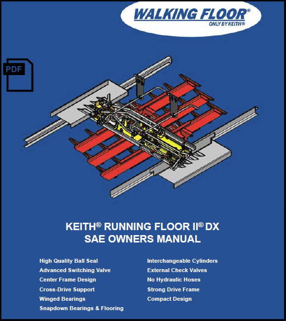 Keith® Running Floor II® DX SAE Owners Manual